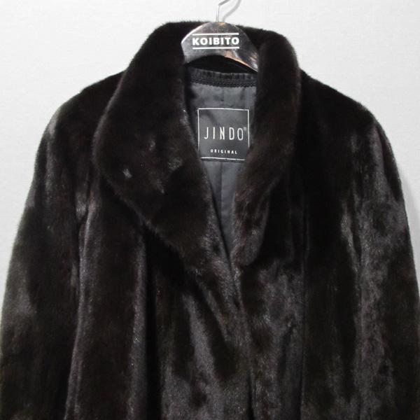 JINDO(진도) 블랙그라마 브라운 여성용 하프 밍크 코트 [대구반월당본점] 이미지2 - 고이비토 중고명품