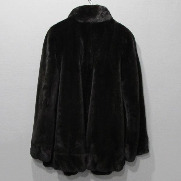 JINDO(진도) 블랙그라마 브라운 여성용 하프 밍크 코트 [대구반월당본점] 이미지3 - 고이비토 중고명품