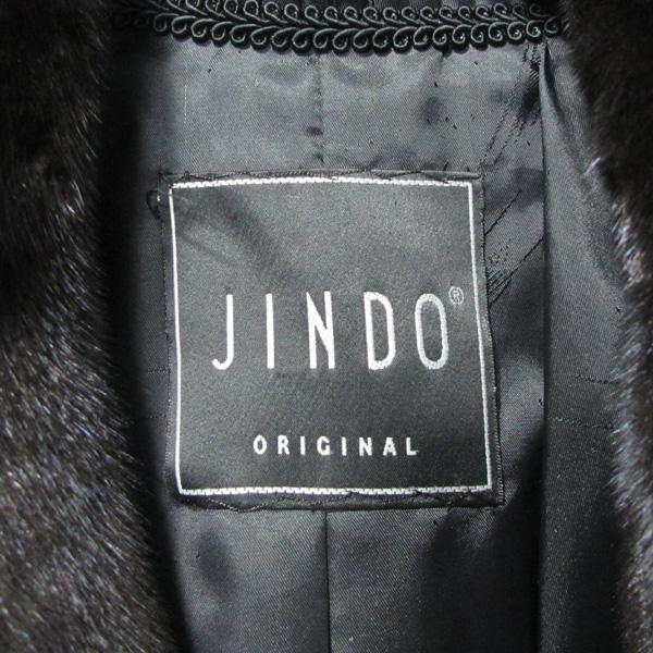 JINDO(진도) 블랙그라마 브라운 여성용 하프 밍크 코트 [대구반월당본점] 이미지5 - 고이비토 중고명품
