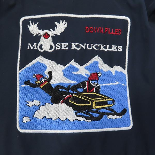 MOOSEKNUCKLES(무스너클) MK2620MMLP 네이비 컬러 구스다운 여성용 패딩 점퍼 - S사이즈 [인천점] 이미지5 - 고이비토 중고명품