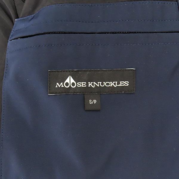 MOOSEKNUCKLES(무스너클) MK2620MMLP 네이비 컬러 구스다운 여성용 패딩 점퍼 - S사이즈 [인천점] 이미지6 - 고이비토 중고명품