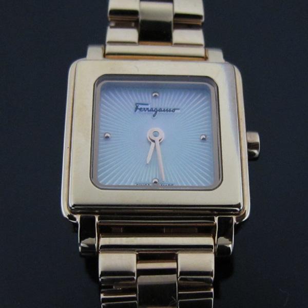 Ferragamo(페라가모) SFBY004-19 금장(로즈골드색) 포트레이트 쿼츠 메탈 여성용 시계 [대구반월당본점] 이미지3 - 고이비토 중고명품