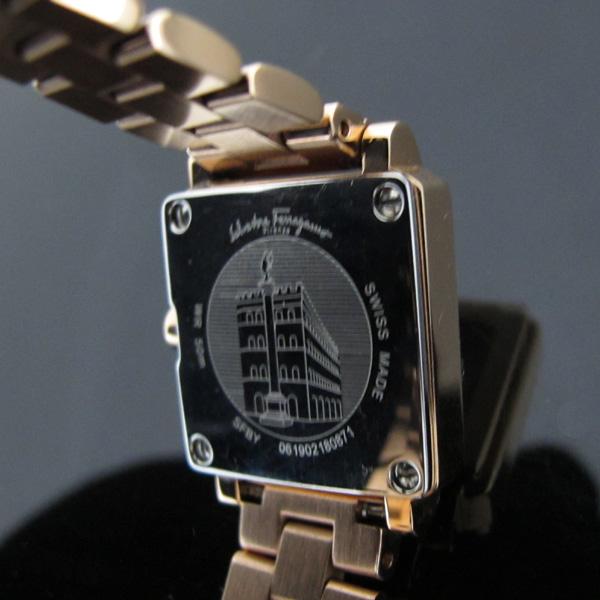 Ferragamo(페라가모) SFBY004-19 금장(로즈골드색) 포트레이트 쿼츠 메탈 여성용 시계 [대구반월당본점] 이미지6 - 고이비토 중고명품