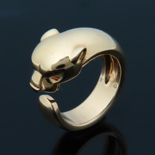 Cartier(까르띠에) B4085953 옐로우 골드(AU 750) 팬더 드 까르띠에 링 반지 - 13호 [인천점] 이미지3 - 고이비토 중고명품