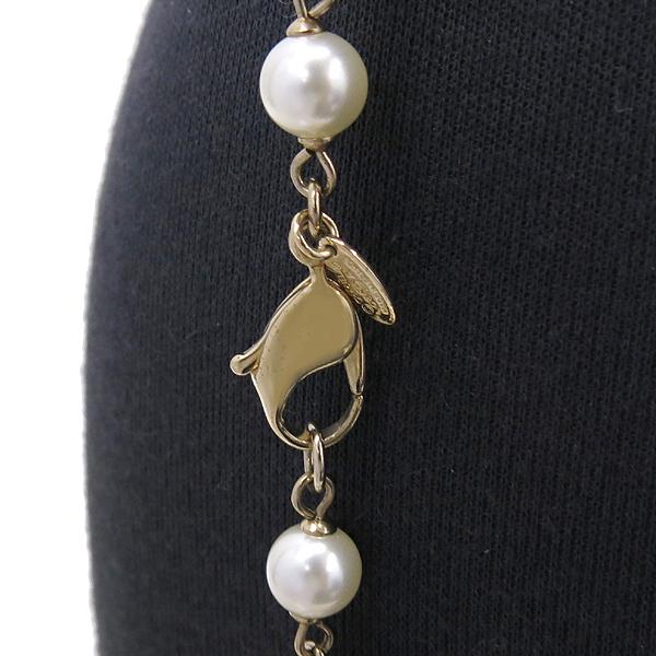 Chanel(샤넬) 로즈 장식 커스텀 진주 목걸이 [강남본점] 이미지3 - 고이비토 중고명품