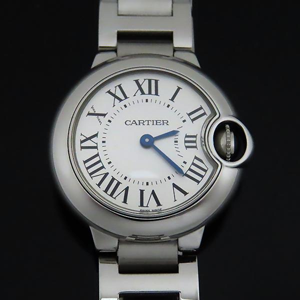 Cartier(까르띠에) W69010Z4 발롱블루 드 까르띠에 S사이즈 쿼츠 28MM 스틸 여성용 시계 [대전본점] 이미지3 - 고이비토 중고명품