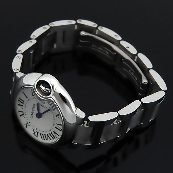 Cartier(까르띠에) W69010Z4 발롱블루 드 까르띠에 S사이즈 쿼츠 28MM 스틸 여성용 시계 [대전본점] 이미지4 - 고이비토 중고명품