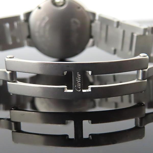 Cartier(까르띠에) W69010Z4 발롱블루 드 까르띠에 S사이즈 쿼츠 28MM 스틸 여성용 시계 [대전본점] 이미지5 - 고이비토 중고명품