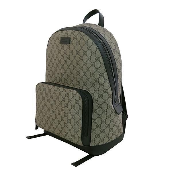 Gucci(구찌) 406370 KLQAX 9772 GG 수프림 캔버스 블랙 트리밍 원포켓 집업 EDEN(에덴) 백팩 [대구동성로점] 이미지2 - 고이비토 중고명품