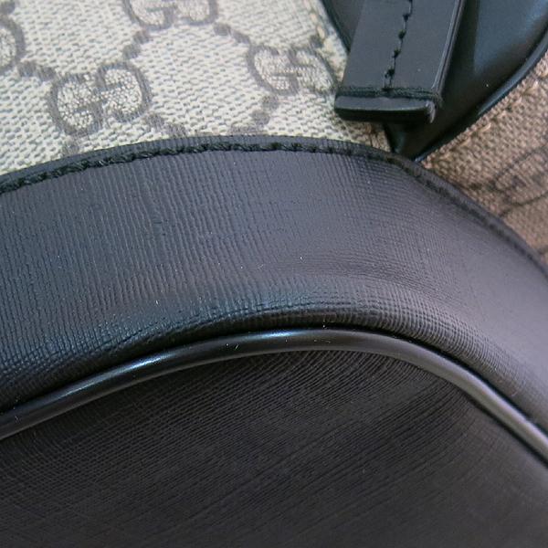 Gucci(구찌) 406370 KLQAX 9772 GG 수프림 캔버스 블랙 트리밍 원포켓 집업 EDEN(에덴) 백팩 [대구동성로점] 이미지3 - 고이비토 중고명품
