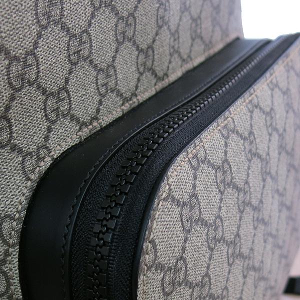 Gucci(구찌) 406370 KLQAX 9772 GG 수프림 캔버스 블랙 트리밍 원포켓 집업 EDEN(에덴) 백팩 [대구동성로점] 이미지4 - 고이비토 중고명품
