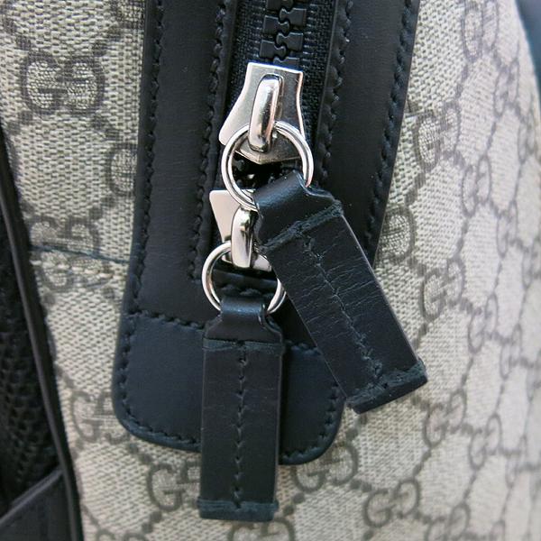 Gucci(구찌) 406370 KLQAX 9772 GG 수프림 캔버스 블랙 트리밍 원포켓 집업 EDEN(에덴) 백팩 [대구동성로점] 이미지5 - 고이비토 중고명품