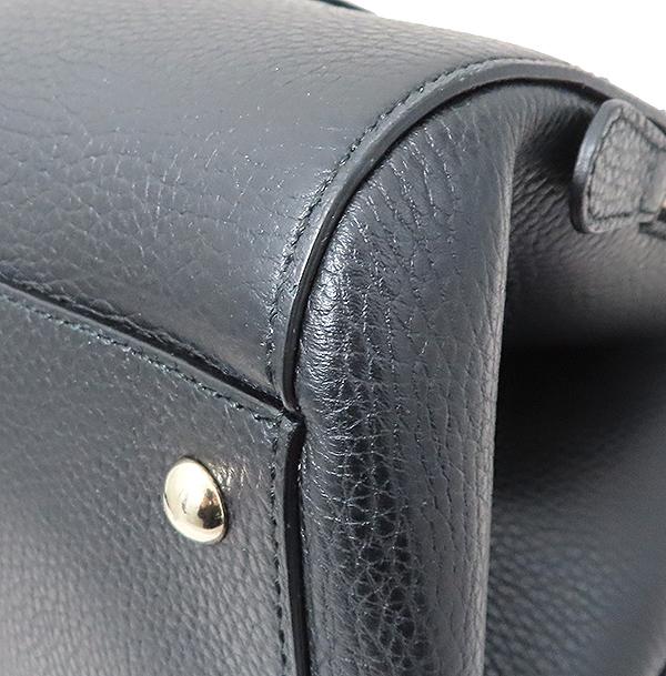 Gucci(구찌) 388558 블랙 컬러 레더 + 숄더스트랩 2WAY  [부산서면롯데점] 이미지6 - 고이비토 중고명품