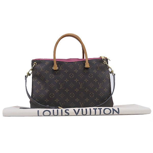 Louis Vuitton(루이비통) M41466 모노그램 캔버스 팔라스 MM 토트백 + 숄더 스트랩 2WAY [강남본점]