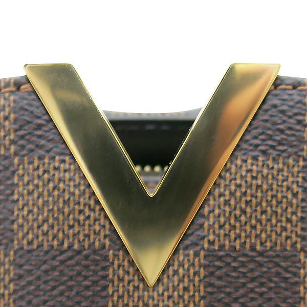 Louis Vuitton(루이비통) N41505 다미에 에벤 캔버스 켄싱턴 보울링 토트백 [부산센텀본점] 이미지4 - 고이비토 중고명품