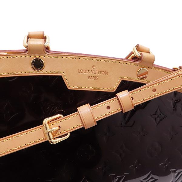 Louis Vuitton(루이비통) M91619 모노그램 베르니 아마랑뜨 브레아 MM 토트백 + 숄더스트랩 [인천점] 이미지5 - 고이비토 중고명품