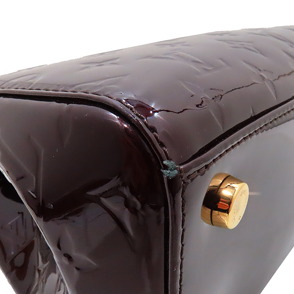 Louis Vuitton(루이비통) M91619 모노그램 베르니 아마랑뜨 브레아 MM 토트백 + 숄더스트랩 [인천점] 이미지6 - 고이비토 중고명품