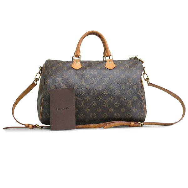 Louis Vuitton(루이비통) M40392 모노그램 캔버스 반둘리에 스피디 35 토트백+숄더스트랩 2WAY [동대문점]
