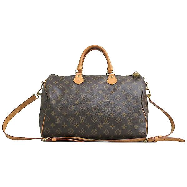 Louis Vuitton(루이비통) M40392 모노그램 캔버스 반둘리에 스피디 35 토트백+숄더스트랩 2WAY [동대문점] 이미지2 - 고이비토 중고명품