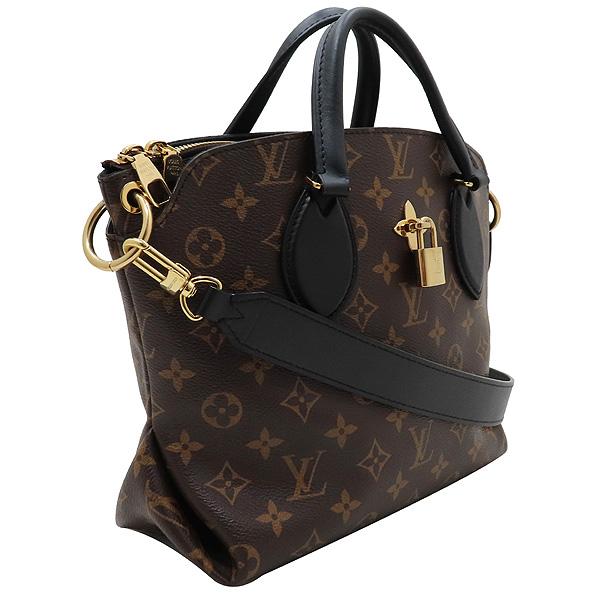 Louis Vuitton(루이비통) M44351 모노그램 캔버스 NOIR(느와르) 플라워 지퍼 PM 토트백 + 숄더스트랩 [인천점] 이미지2 - 고이비토 중고명품