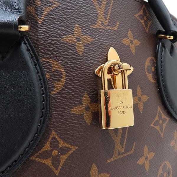 Louis Vuitton(루이비통) M44351 모노그램 캔버스 NOIR(느와르) 플라워 지퍼 PM 토트백 + 숄더스트랩 [인천점] 이미지3 - 고이비토 중고명품