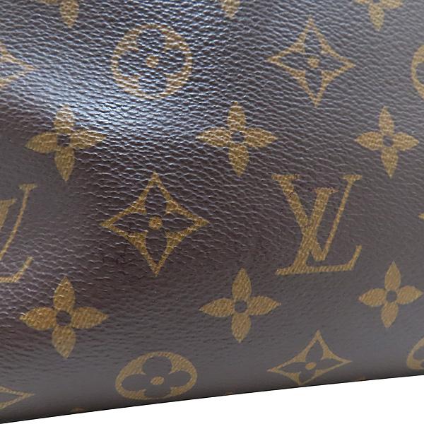 Louis Vuitton(루이비통) M44351 모노그램 캔버스 NOIR(느와르) 플라워 지퍼 PM 토트백 + 숄더스트랩 [인천점] 이미지5 - 고이비토 중고명품