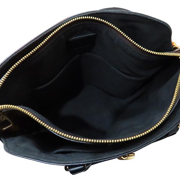 Louis Vuitton(루이비통) M44351 모노그램 캔버스 NOIR(느와르) 플라워 지퍼 PM 토트백 + 숄더스트랩 [인천점] 이미지7 - 고이비토 중고명품