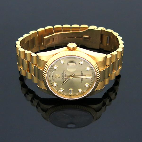Rolex(로렉스) 118238 18K 금통 10포인트 다이아 DAY DATE(데이 데이트) 남성용 시계 [부산센텀본점] 이미지3 - 고이비토 중고명품