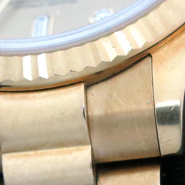 Rolex(로렉스) 118238 18K 금통 10포인트 다이아 DAY DATE(데이 데이트) 남성용 시계 [부산센텀본점] 이미지6 - 고이비토 중고명품