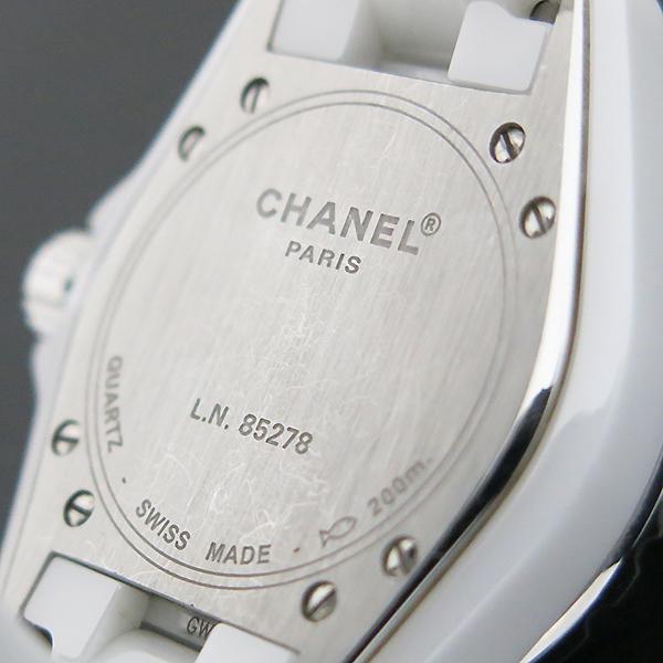 Chanel(샤넬) H1628 J12 33MM 화이트 세라믹 12포인트 다이아 쿼츠 여성용 시계 [부산센텀본점] 이미지5 - 고이비토 중고명품
