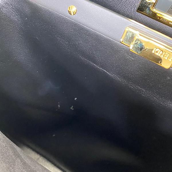 Fendi(펜디) 8BN290 3ZN F0KUR 블랙 레더 REGULAR(레귤러) 피카부 토트백 + 숄더 스트랩 [대구동성로점] 이미지7 - 고이비토 중고명품