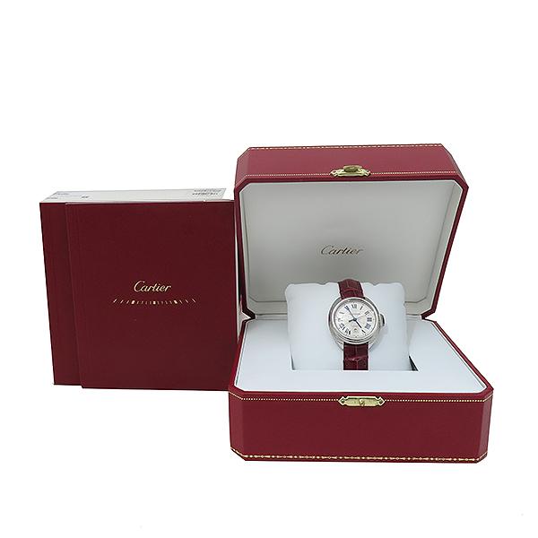 Cartier(까르띠에) WSCL0016 끌레 드 까르띠에 31MM 오토매틱 엘레게이터 가죽 여성용 시계 [부산서면롯데점]