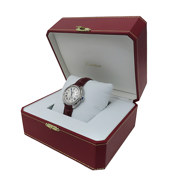 Cartier(까르띠에) WSCL0016 끌레 드 까르띠에 31MM 오토매틱 엘레게이터 가죽 여성용 시계 [부산서면롯데점] 이미지2 - 고이비토 중고명품