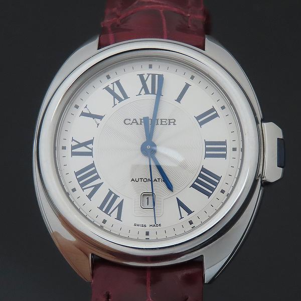 Cartier(까르띠에) WSCL0016 끌레 드 까르띠에 31MM 오토매틱 엘레게이터 가죽 여성용 시계 [부산서면롯데점] 이미지3 - 고이비토 중고명품