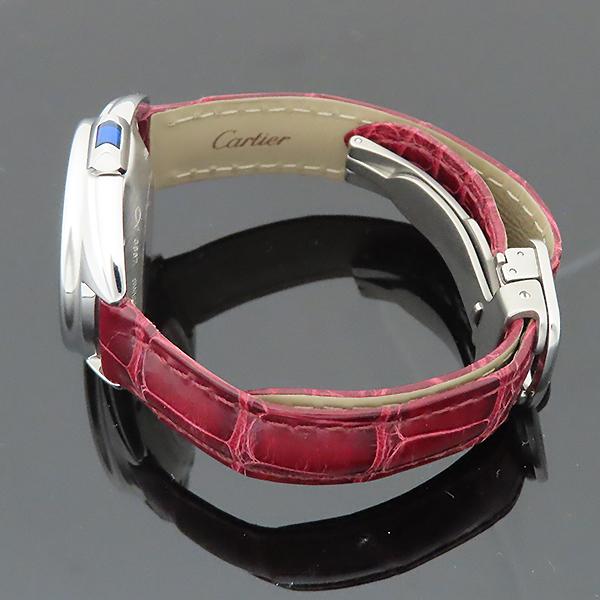 Cartier(까르띠에) WSCL0016 끌레 드 까르띠에 31MM 오토매틱 엘레게이터 가죽 여성용 시계 [부산서면롯데점] 이미지5 - 고이비토 중고명품