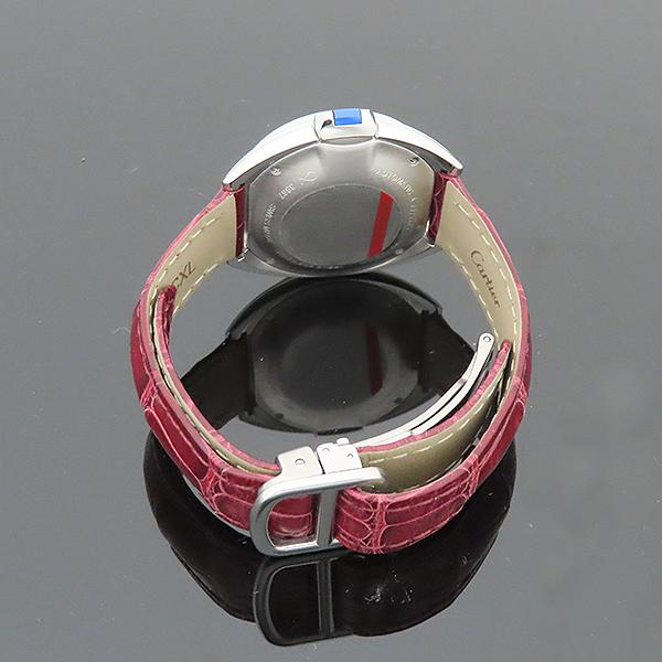 Cartier(까르띠에) WSCL0016 끌레 드 까르띠에 31MM 오토매틱 엘레게이터 가죽 여성용 시계 [부산서면롯데점] 이미지6 - 고이비토 중고명품