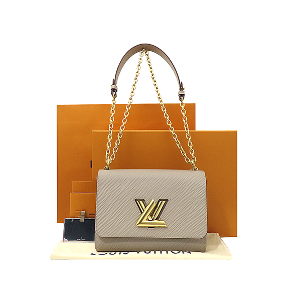 Louis Vuitton(루이비통) M53754 갈렛 컬러 에삐 레더 트위스트 MM 체인 숄더 겸 크로스백 [부산서면롯데점]