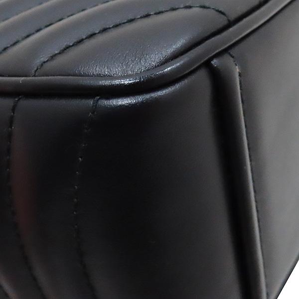 Prada(프라다) 1BH083 블랙 레더 다이아그램 금장 로고 체인 숄더 크로스백 [인천점] 이미지6 - 고이비토 중고명품