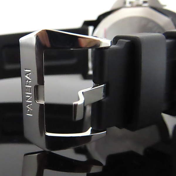 OFFICINE PANERAI(오피치네 파네라이) PAM00775 LUMINOR BASE LOGO 44MM 오토매틱 러버 밴드 남성용 시계 [대전본점] 이미지5 - 고이비토 중고명품