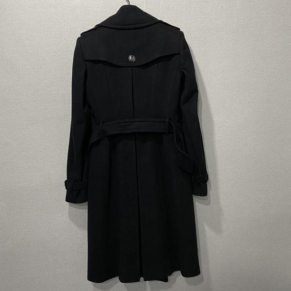 Burberry(버버리) 3865979 프로섬 블랙 모 캐시미어 혼방 블랙 여성용 코트 + 벨트 SET [대구반월당본점] 이미지3 - 고이비토 중고명품
