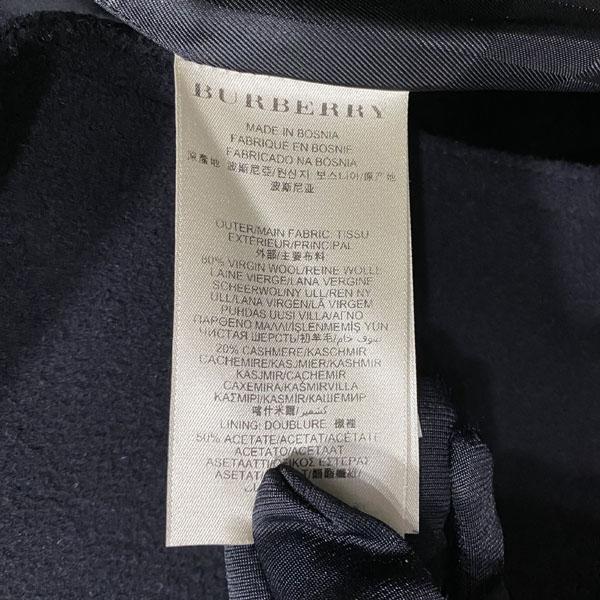 Burberry(버버리) 3865979 프로섬 블랙 모 캐시미어 혼방 블랙 여성용 코트 + 벨트 SET [대구반월당본점] 이미지6 - 고이비토 중고명품