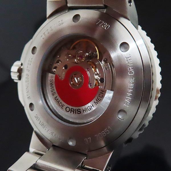 ORIS(오리스) 01 733 7730 4153 아퀴스 데이트 릴리프 43MM 오토매틱 남성용 시계 + 추가 러버밴드 [인천점] 이미지6 - 고이비토 중고명품