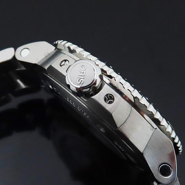 ORIS(오리스) 01 733 7730 4153 아퀴스 데이트 릴리프 43MM 오토매틱 남성용 시계 + 추가 러버밴드 [인천점] 이미지7 - 고이비토 중고명품