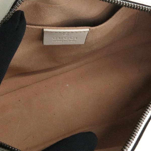 Gucci(구찌) 447632 화이트 컬러 레더 GG Marmont(마몬트) 마틀라세 금장로고 체인 크로스백 [동대문점] 이미지5 - 고이비토 중고명품
