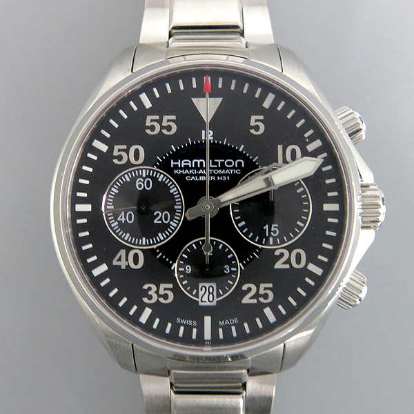 HAMILTON(해밀턴) H64666155 KHAKI Pilot(카키 파일럿) 오토메틱 스틸 남성용 시계 [동대문점] 이미지2 - 고이비토 중고명품