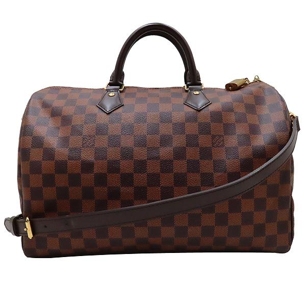 Louis Vuitton(루이비통) N41366 다미에 에벤 캔버스 반둘리에 스피디 35 토트백 + 숄더스트랩 2WAY [인천점]