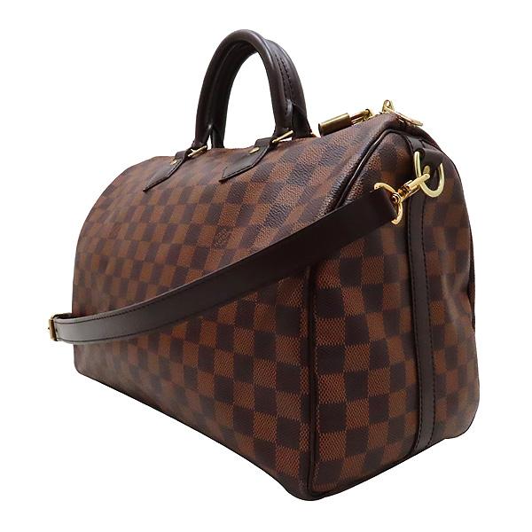 Louis Vuitton(루이비통) N41366 다미에 에벤 캔버스 반둘리에 스피디 35 토트백 + 숄더스트랩 2WAY [인천점] 이미지2 - 고이비토 중고명품