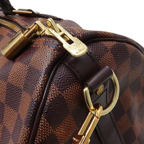 Louis Vuitton(루이비통) N41366 다미에 에벤 캔버스 반둘리에 스피디 35 토트백 + 숄더스트랩 2WAY [인천점] 이미지3 - 고이비토 중고명품