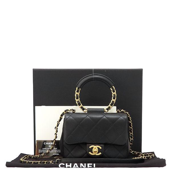 Chanel(샤넬) AS1357B01917 브레이슬릿 핸들 스몰 플랩백 [잠실점]