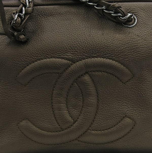 Chanel(샤넬) 브라운 컬러 램스킨 체인 볼링백 [강남본점] 이미지3 - 고이비토 중고명품